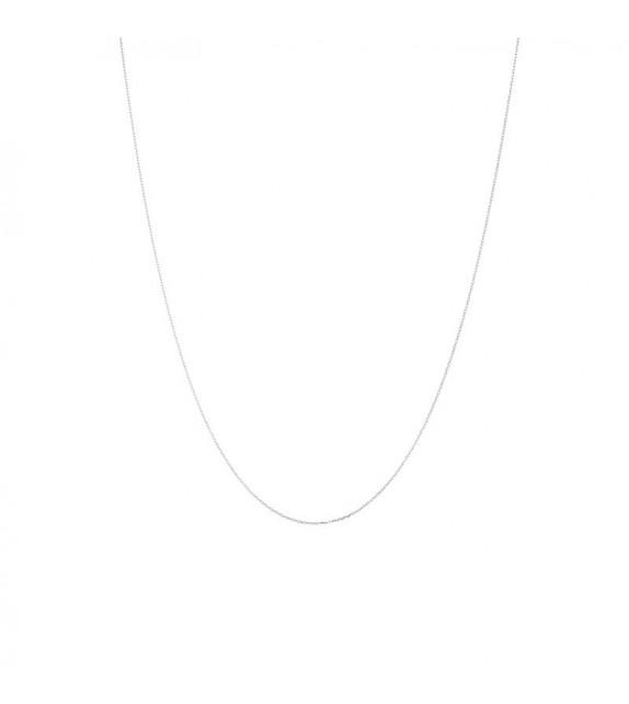 Chaîne en Or Blanc 375/1000 43cm