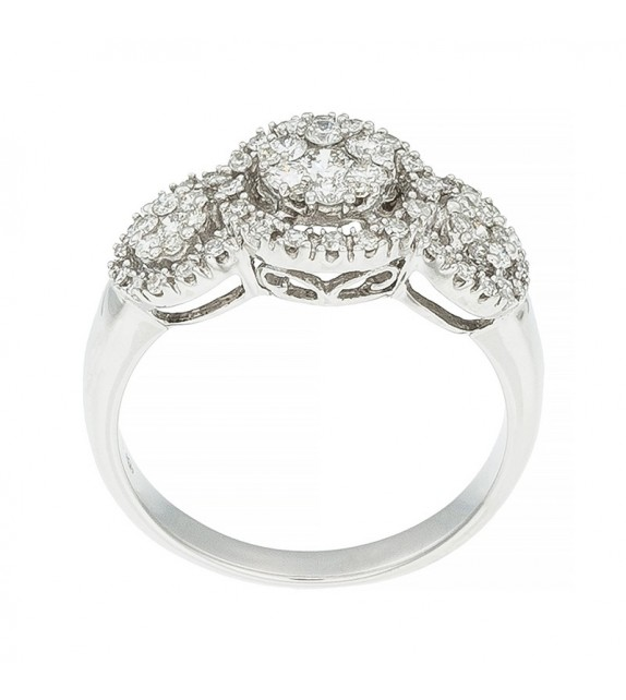 Bague Heaven Or Blanc et Diamant 0,51ct